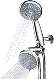 Handheld Showerhead & Rain Shower Combo. High Pressure 35 Function 11cm Face Dual 2 in 1 Shower Head System with Stainless...