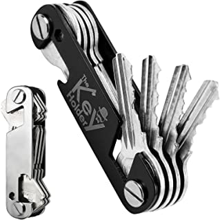 جاکلیدی Key Organizer 2PCS ، Keyring Key دارنده جمع و جور ، Smart