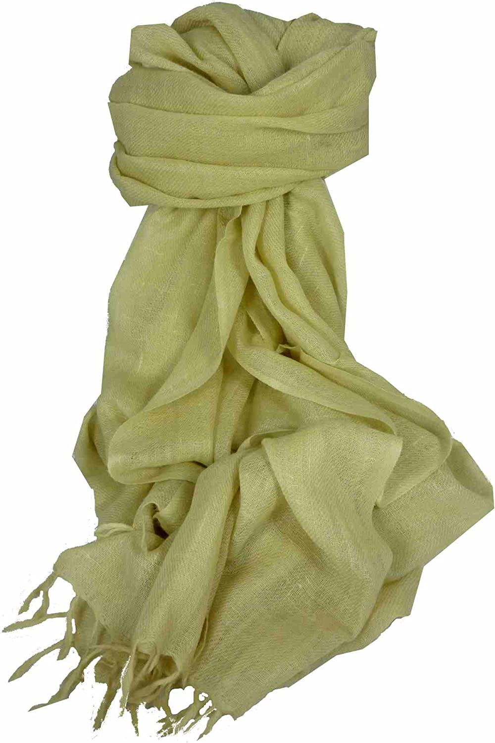Angora Loose Weave Pashmina Cream by Pashmina & Silk