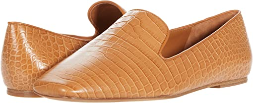 Tan/Soft Mini Croc Leather