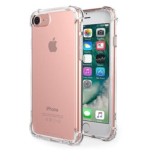 4c6d5dab4e47 Yoyamo iPhone 6s Plus 6 Plus Clear Case Cover Soft TPU Gel Bumper Shock  Absorption