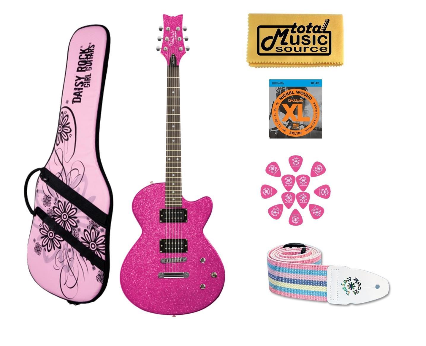 Cheap DAISY ROCK Debutante Rock Candy Atomic Pink Electric Guitar 14-7751 Black Friday & Cyber Monday 2019