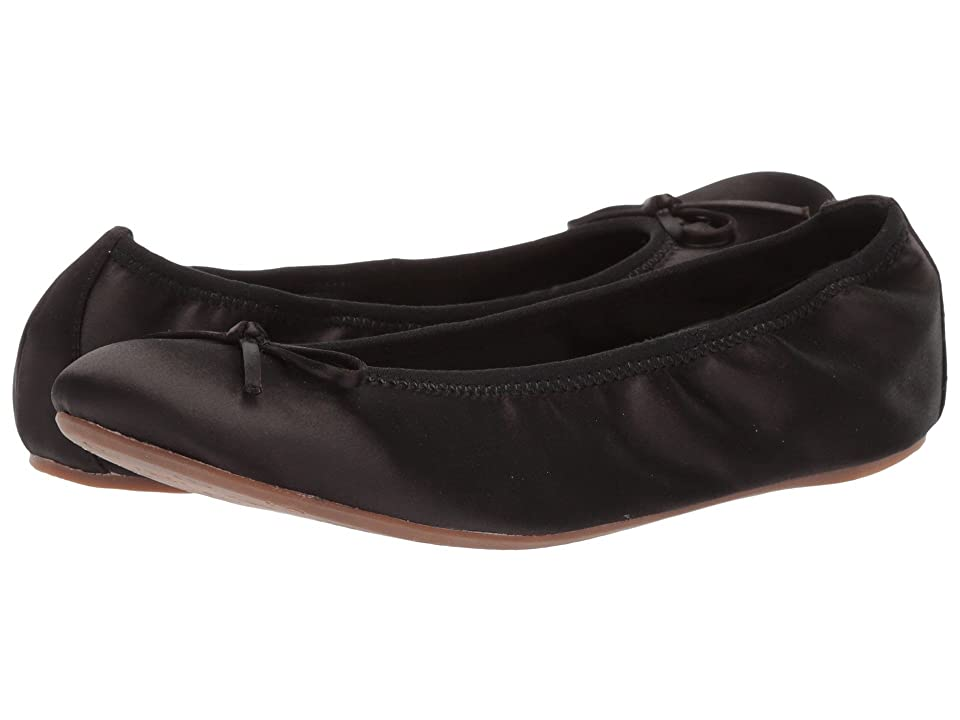 L.K. Bennett Bia (Black Satin) Women