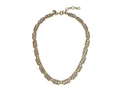 J.Crew Bacchio Station Necklace (Crystal) Bracelet