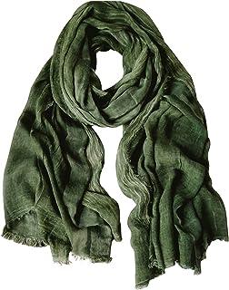 GERINLY Fashion Winter Men Scarves Soft Warm Crinkle Scarf