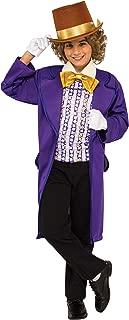Boys Willy Wonka Costume X-Small