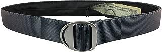 Bison Designs Crescent Money 38mm USA Made Gunmetal Buckle Travel Belt