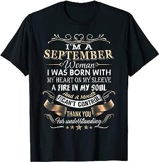 I'm A SEPTEMBER Woman T-Shirt
