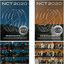 NCT 2020 Resonance Pt. 1 Album (The Past Ver.+The Future Ver. Set) 2 CDs+2 Folding Posters+2 Photo Books+2 Lyrics Posters+...