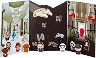 Hallmark itty bittys Star Wars: The Last Jedi Repositionable Sticker Kit Arts & Crafts Movies & TV; Sci-Fi