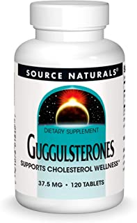 Source Naturals Guggulsterones 37.5 mg Supports Cholesterol Wellness - 120 Tablets