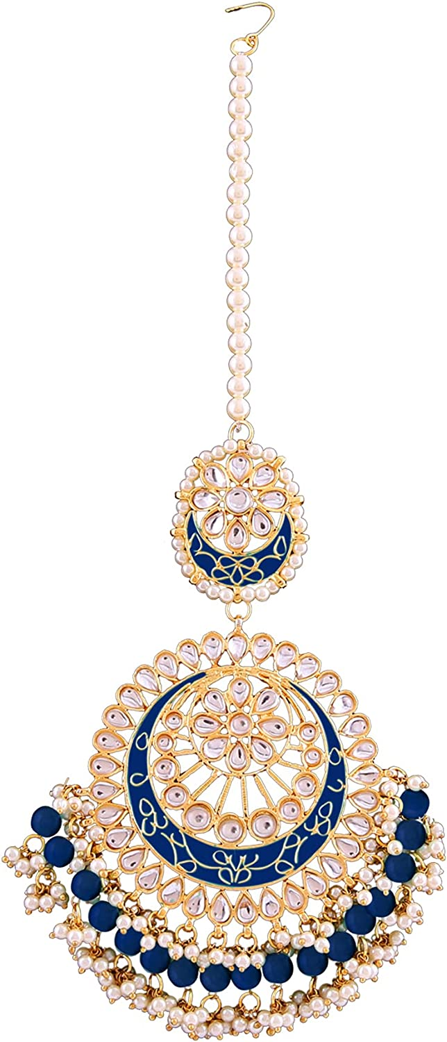 Retailbees Kundan Indian At the price Jewelry Punjabi boll Wedding Party Wear Max 70% OFF