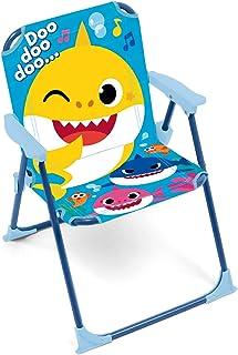 Arditex SK13552 Chaise pliante avec bras de 38 x 32 x 53 cm de Nickelodeon-Baby Shark