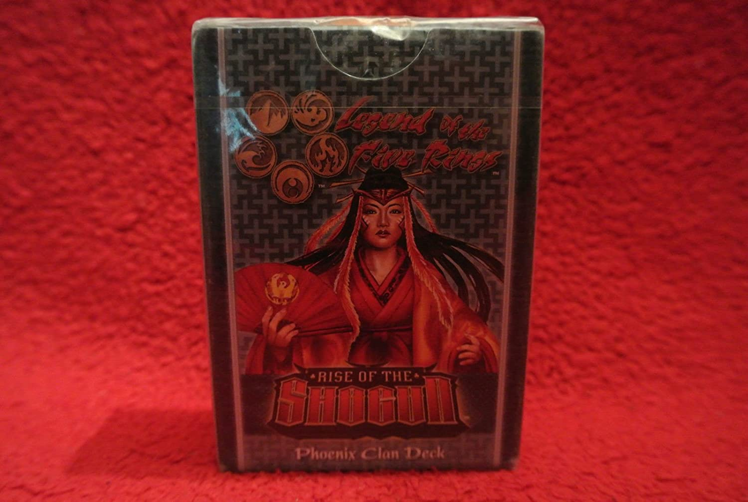 Legend of the Five Rings Rise of the Shogun Phoenix Clan Deck [Toy]