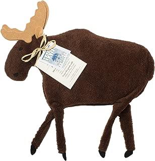 Maine Warmers Moose Microwave Body Warmer - Corn Filled Heating Pad - Heat or Freeze!