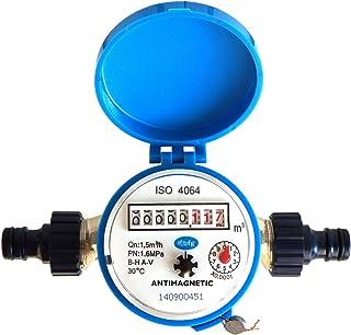 Sponsored Ad – BFG Water meter flow House and Garden 1.5m3/h garden connectors - cold water