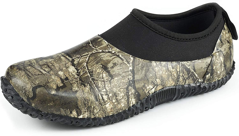 8 Fans Rain Shoes Trust Waterproof Garden Boot Ankle Rubber New life