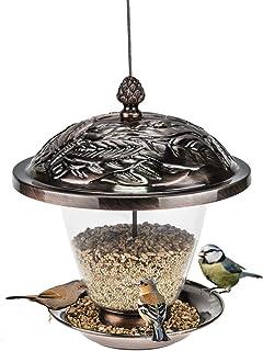 ZHANGXIAOYU Salvaje Colgante alimentación de Aves Transparente Chalet balcón al Aire Libre jardín Suministros guía de Aves...