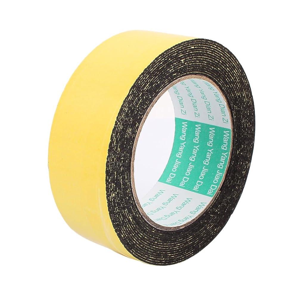 uxcell 40mm x 1mm Single Sided Self Adhesive Shockproof Sponge Foam Tape 5M Length