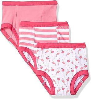 Luvable Friends Baby Cotton Training Pants,  Pink Flamingo 3-Pack 12-18 Months