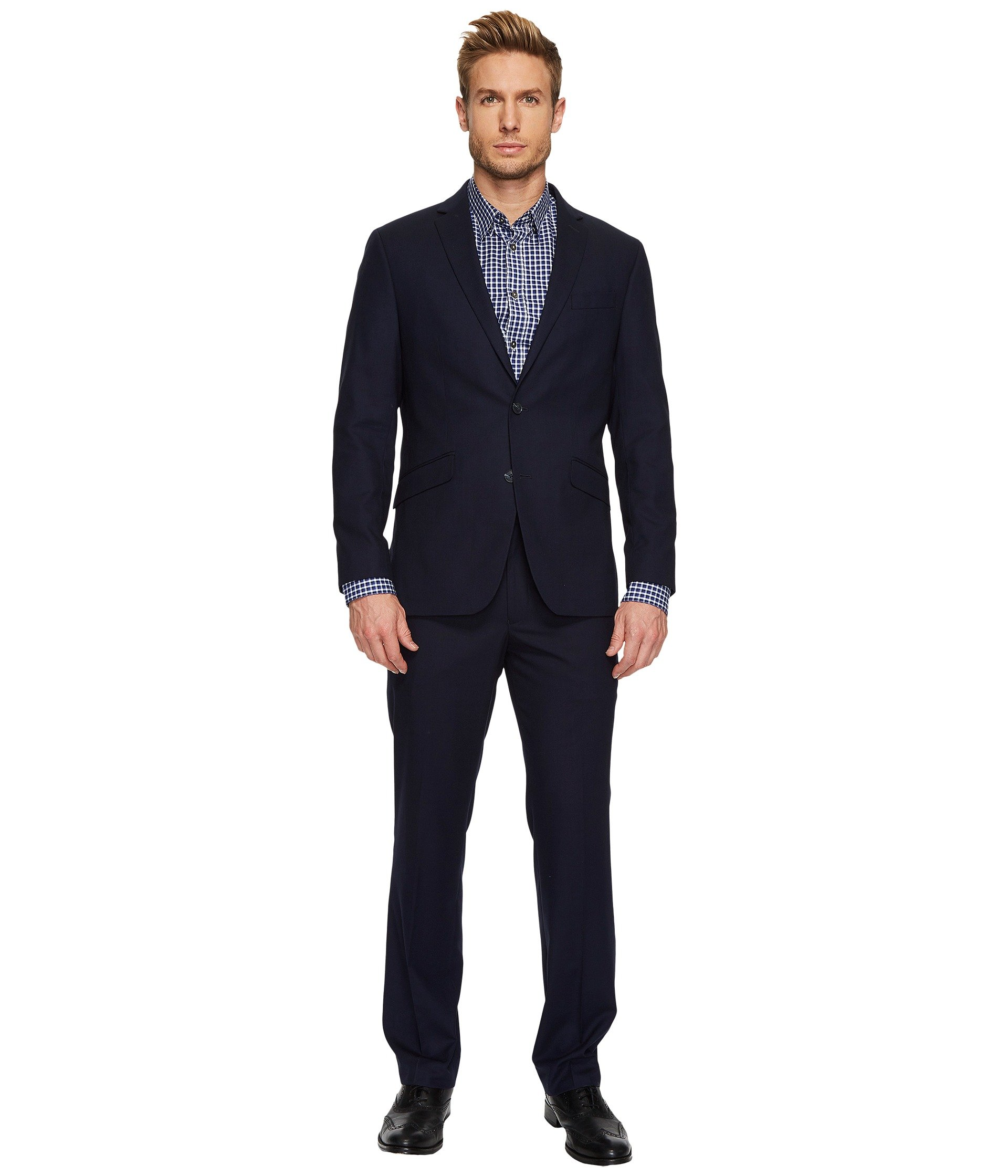 Vestido para Hombre Kenneth Cole Reaction Flatiron Hustle Mini Check Suit  + Kenneth Cole Reaction en VeoyCompro.net