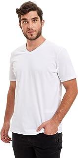 DeFacto Erkek M7668AZ Slim Fit V Yaka Basic Tişört