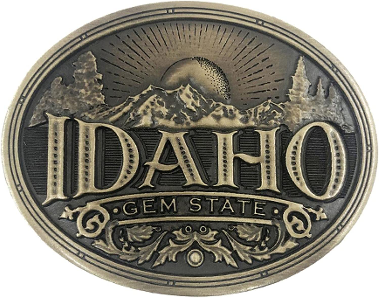 Cody James Men's Spasm price Idaho Heritage Free shipping on posting reviews Belt Buckle One Size Bronze