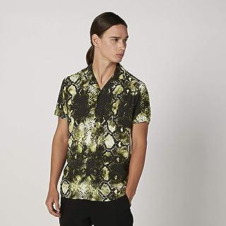 ايكونيك قميص للرجال ، مقاس L ، متعدد الالوان