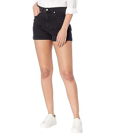 Madewell High-Rise Denim Shorts in Lunar Wash: Raw-Hem Edition Women