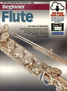 CP69126 - Progressive Beginner Flute - Book/Online Video & Audio