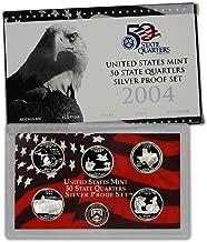 2004 S US Mint Quarters Silver Proof Set OGP