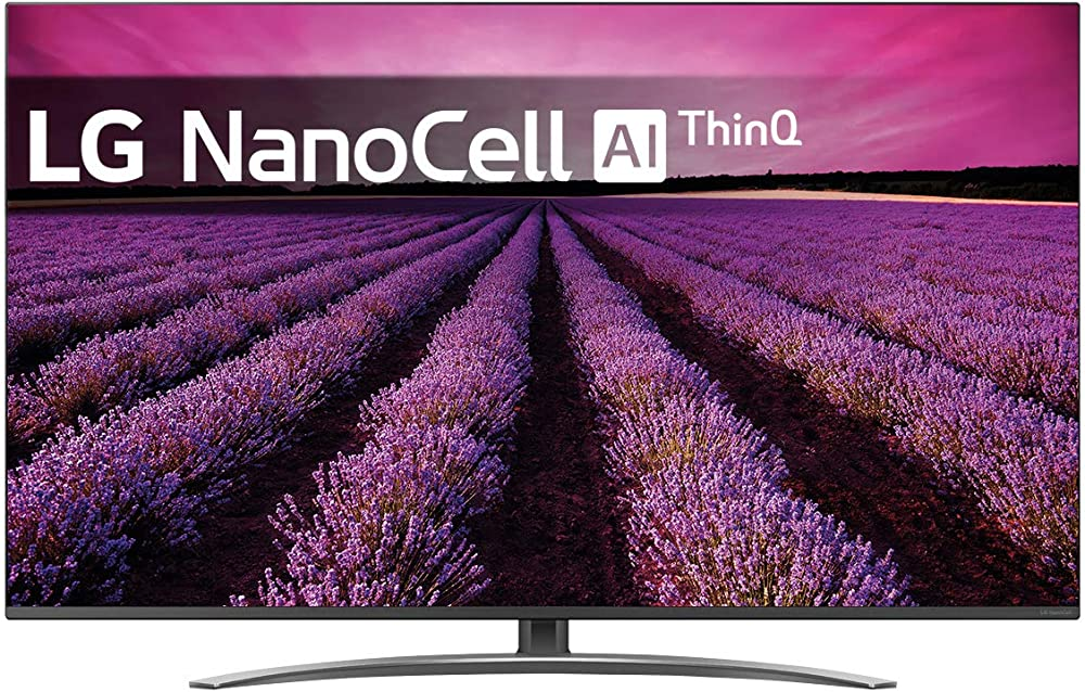 Lg nanocell ai smart tv, 49 pollici  4k active hdr, dts virtual:x, google assistant e alexa integrati 49SM8200PLA