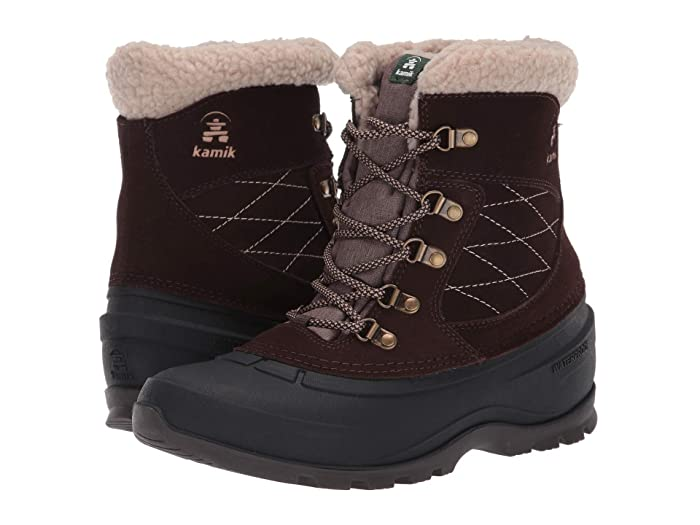 Kamik  SnoValleyL (Brown) Womens Cold Weather Boots
