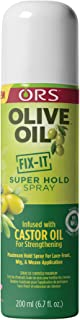 ORS Olive Oil FIX-IT Super Hold Spray 7 Ounce (Pack of 1)