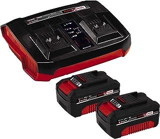 Sponsored Ad – Einhell Original 18V 2x 4.0Ah Starter Kit (, 18 V, 2x 4.0Ah Batteries and Twincharger, Li-Ion, suitable for...
