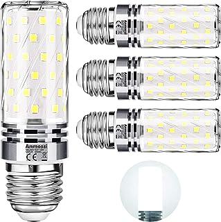 Bombillas LED E27,Anmossi 12W LED Maíz Bombilla Equivalente a 100W Incandescente Bombilla,6000K Blanco Frio,1200Lm,No Regu...