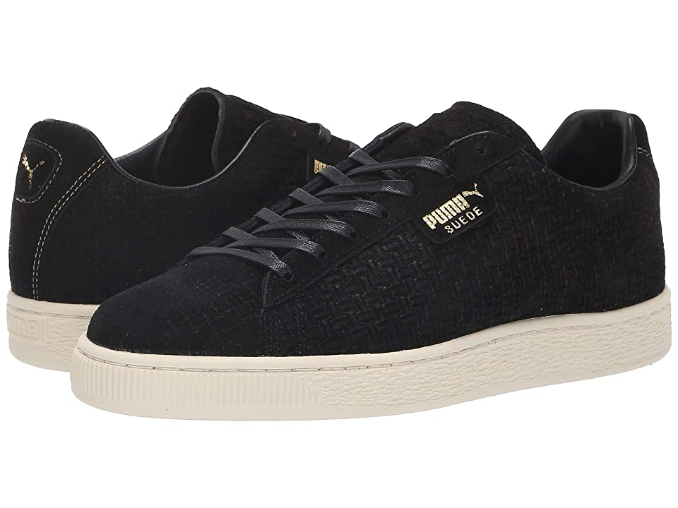 PUMA Puma x Naturel Clyde Woven Suede Sneaker (Black) Lace up casual Shoes