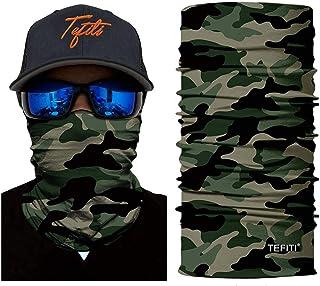 SA Company Face Shield//Boucle Foulard//Bandana-Vert Militaire Camouflage Crâne Design