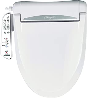 LivingStar 5300 Elongated. Brings you with cozy and fresh bidet experiences via Micro-air infused warm water with multi-adjustable controls: water, seat, temp & various washing modes