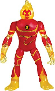 Ben 10 Deluxe Action Figure Toy - 4 Years & Above - Red/Yellow 76601