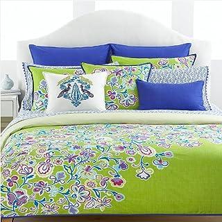 "Tommy Hilfiger Folklore 20"" Square Decorative Pillow"