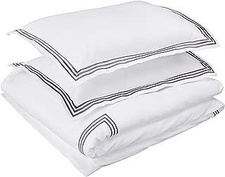 Best white duvet with black trim Reviews