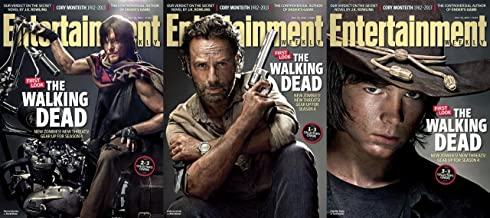 Walking Dead Entertainment Weekly Specials July 2013 (Set of Three Magazines)