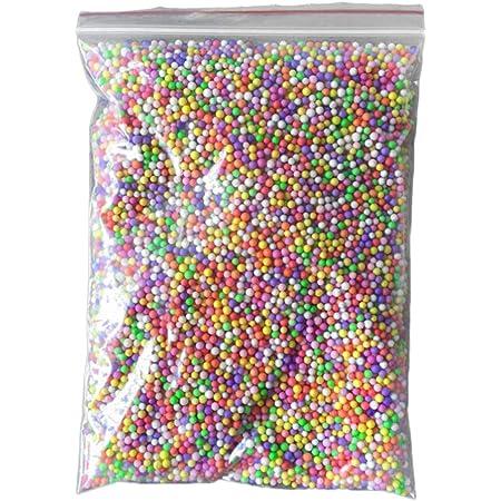 Taille L Collectsound polystyr/ène polystyr/ène Bo/îte cadeau de remplissage en mousse Bouteille en verre DIY Mini boules de perles rose