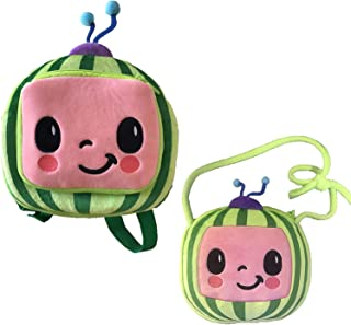 AioTio 2Packs JJ Plush Children's Backpacks and Messenger Bag for 1-3 Years Old Kids