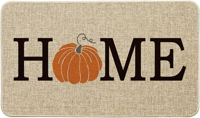 Artoid Mode Home Pumpkin Decorative Indianapolis Mall Doormat Harve Seasonal Free shipping anywhere in the nation Fall