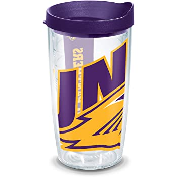 16oz Tervis 1226954 Nba Sacramento Kings Colossal Insulated Tumbler with Wrap and Royal Purple Lid Clear