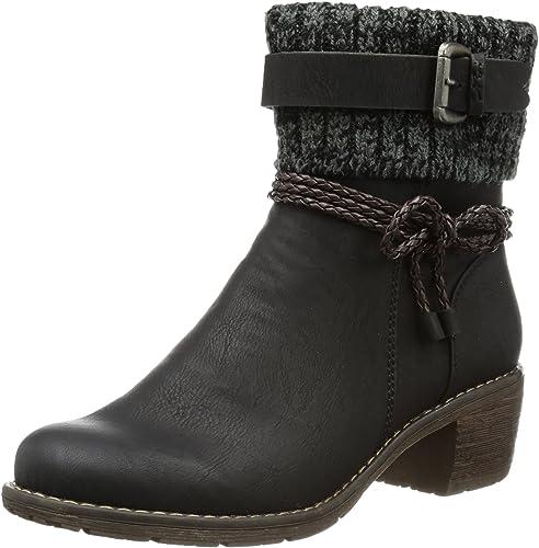 Rieker 99878 Damen Damen Damen Halbschaft Stiefel  billige Designermarken