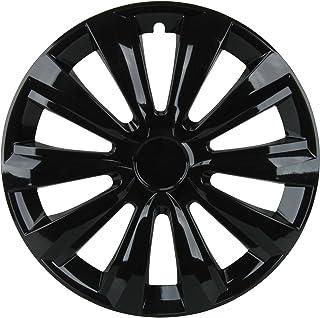 comprar comparacion Cartrend Unitec 75478 Delta Tapacubos, 16 Pulgadas, Color Negro