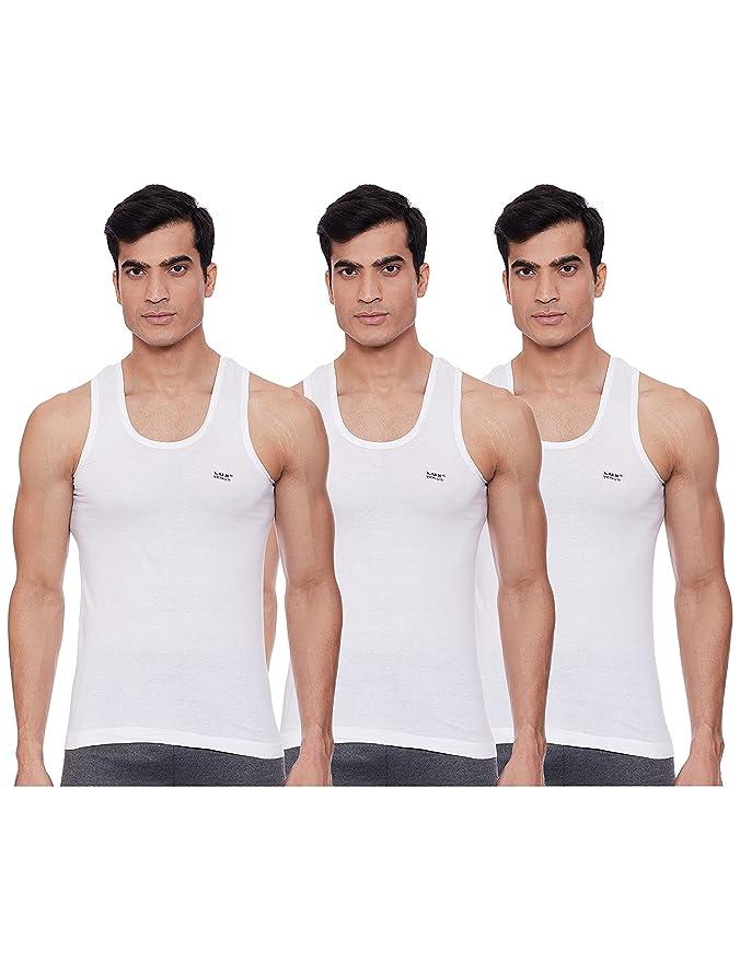 LUX VENUS Men's Cotton Vest  Pack of 3  Vests
